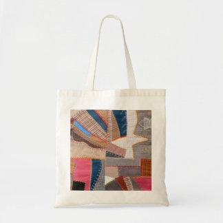 Antique American Crazy Quilt - Quilter's Tote Bag