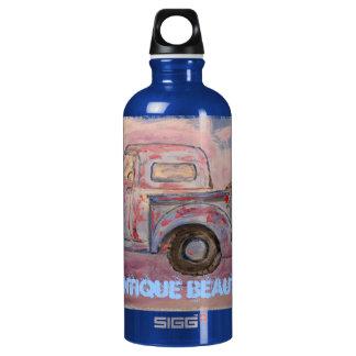 antique beauty blue patina truck SIGG traveller 0.6L water bottle
