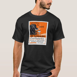 Antique Belgian Coffee Boar Advertising T-Shirt