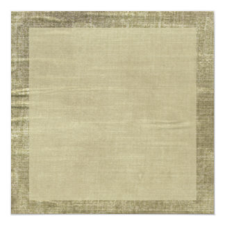 Antique Blank Layered Stained Rustic Paper 13 Cm X 13 Cm Square Invitation Card