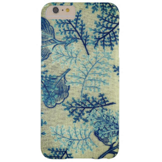 Antique Blue Floral Material Design iphone Case