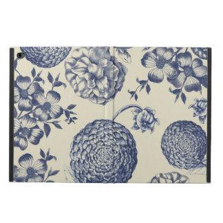 Antique Blue Flower Print Art Botanical Powis iPad Air 2 Case
