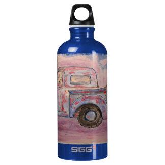 antique blue patina truck SIGG traveller 0.6L water bottle