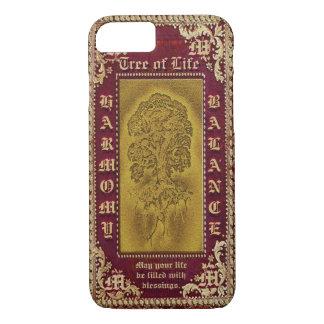 Antique Book Look Monogram iPhone 7 Case