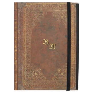 Antique Book Look with your Initials
