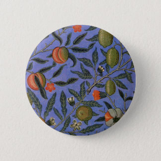 Antique Botanical Design 6 Cm Round Badge