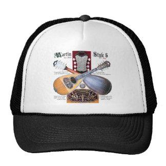 Antique Bowlback Mandolin Mesh Hat
