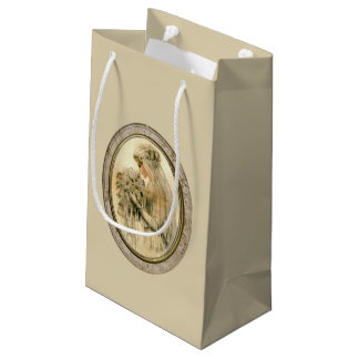 Antique Bride Small Gift Bag