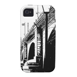 Antique Bridge in Pen and Ink iPhone 4/4S Cases