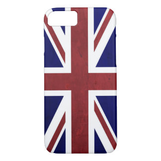 Antique British Flag iPhone 7 Case