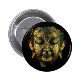 Antique Bronze Buddha Face Gifts by Sharles Pin