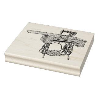 Antique Brunswick Sewing Machine Rubber Art Stamp