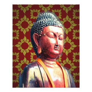 Antique Buddha 11.5 Cm X 14 Cm Flyer