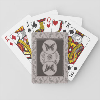 Antique Butterfly Playing Cards