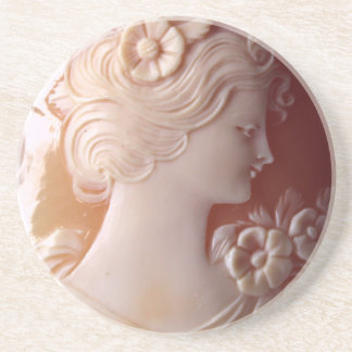 Antique Cameo Coaster