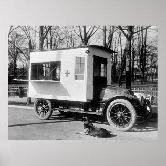 Antique Canteen Truck, 1910s Poster