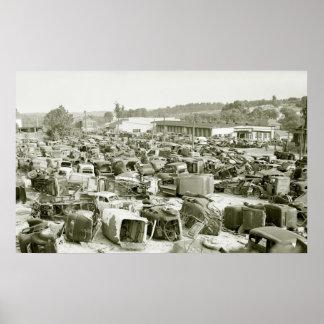 Antique Car Collector s Dream 1941 Poster