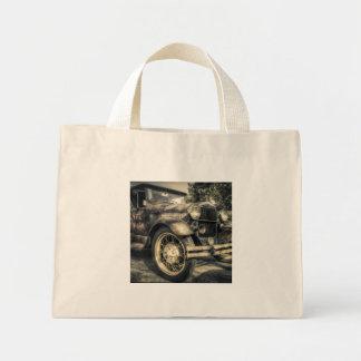Antique Car,old car Mini Tote Bag