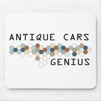 Antique Cars Genius Mouse Pad