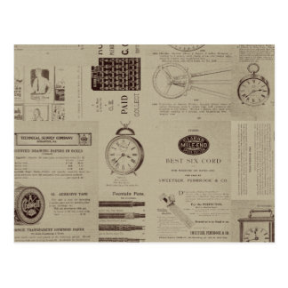 Antique Catalog Pages Post Card