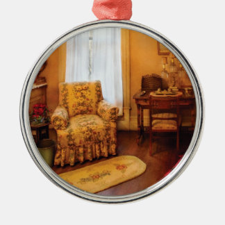 Antique - Chair - Living room Retirement Silver-Colored Round Decoration