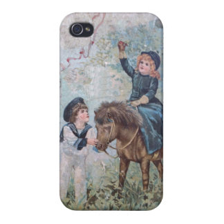 Antique Children's Book Cover iPhone 4 Cover