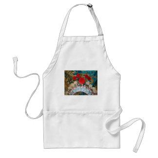 antique chinese headress standard apron