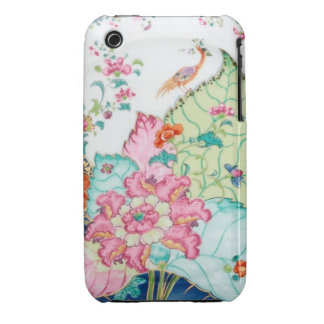 Antique chinoiserie china porcelain bird pattern iPhone 3 cases