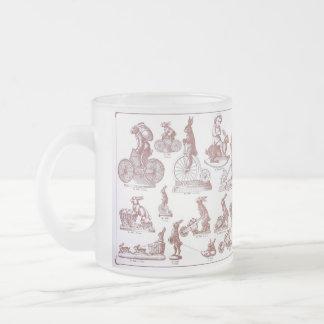 Antique Chocolate Mold Catalog Easter Bunny Mug