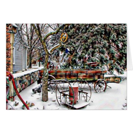 Antique Christmas Card