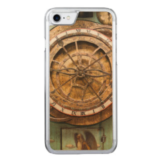 Antique clock face, Germany Carved iPhone 8/7 Case