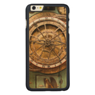 Antique clock face, Germany Carved Maple iPhone 6 Plus Case