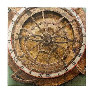 Antique clock face, Germany Ceramic Tile