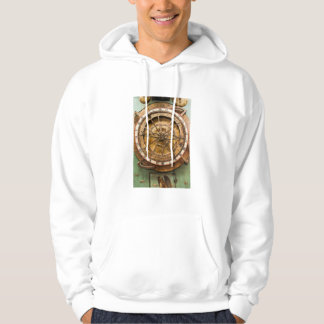 Antique clock face, Germany Hoodie