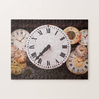 Antique clocks puzzles