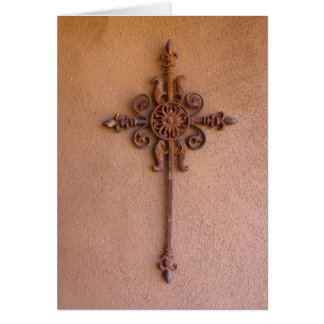Antique Cross Card