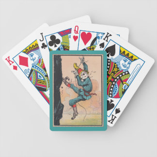 Antique Cute Oz Scarecrow Gift Playing Cards