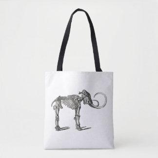 Antique Dinosaur Mammoth Bones Paleontology Tote Bag