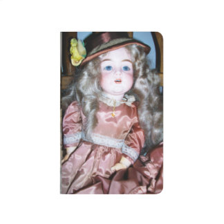 Antique Doll Auction Pocket Journal