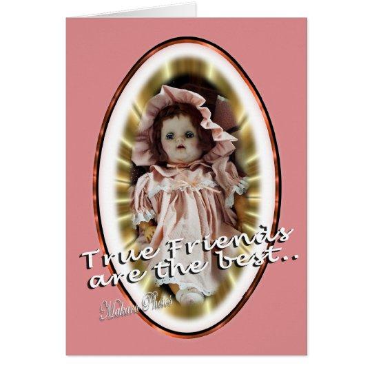 Antique Doll- Patty- personalise as you wish Card