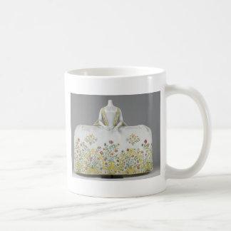 Antique dress - museum piece basic white mug