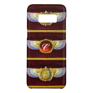 ANTIQUE EGYPTIAN WINGED SCARAB /CORNUCOPIA JEWEL Case-Mate SAMSUNG GALAXY S8 CASE