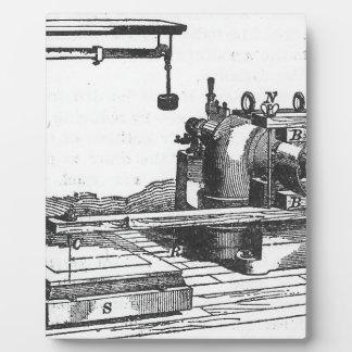 Antique Engineering Tool Vintage Ephemera Display Plaques