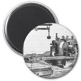 Antique Engineering Tool Vintage Ephemera Magnet