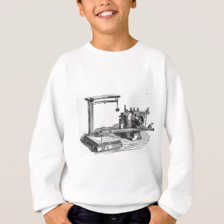 Antique Engineering Tool Vintage Ephemera Sweatshirt