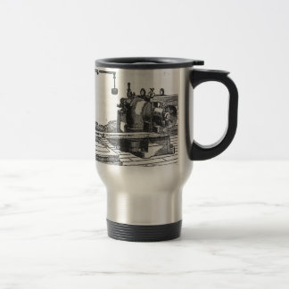 Antique Engineering Tool Vintage Ephemera Travel Mug