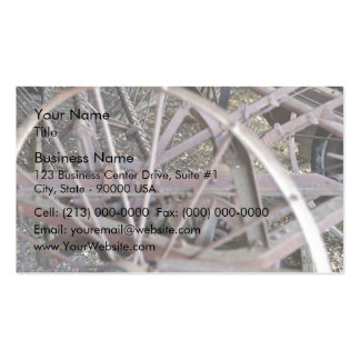 Antique farm machinery pack of standard business cards