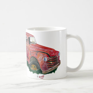 Antique Fire Engine Coffee Mug