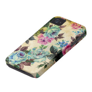 Antique Floral Case-Mate iPhone 4 iPhone 4 Cover