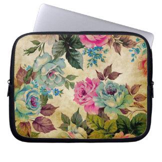 Antique Floral Laptop Sleeve